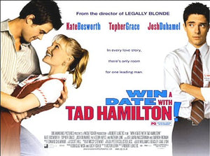 Win A Date with Tad Hamilton Movie Poster