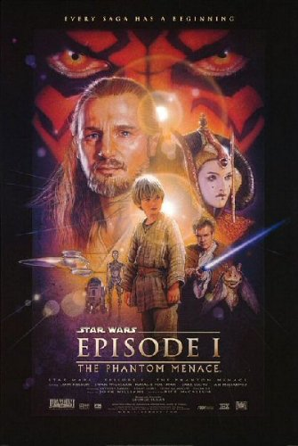 The Phantom Menace Movie Poster