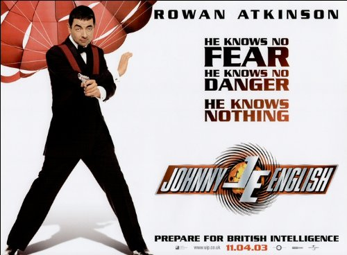 Johnny English Movie Poster