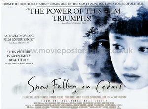 Snow Falling on Cedars Movie Poster
