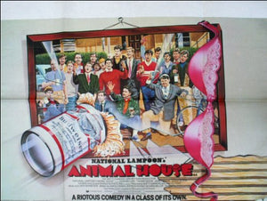 National Lampoons Animal House Movie Poster