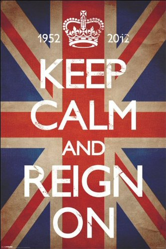 Keep Calm And Reign On - Maxi Poster - 61cm x 91.5cm