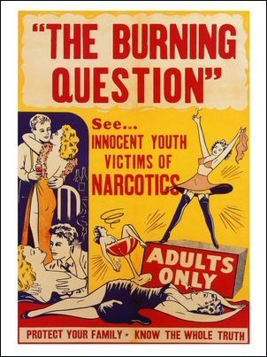 The Burning Question Art Print Poster