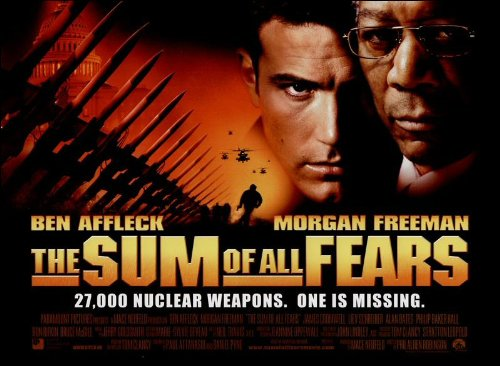 The Sum of All Fears Movie Poster