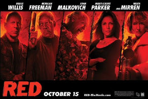 Red (Cast) - Maxi Poster - 61cm x 91.5cm