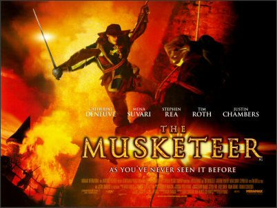 The Musketeer Movie Poster