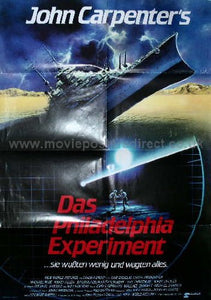 The Philadelphia Experiment Original German A1 Poster
