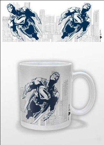 Superman Man Of Steel 1-Piece Ceramic Blue Mug