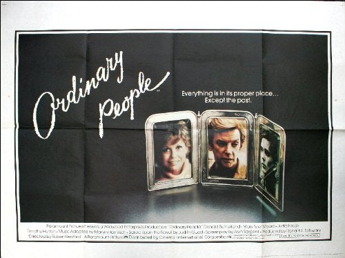 Ordinary People Movie Poster