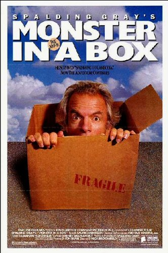 Monster In A Box Movie Poster