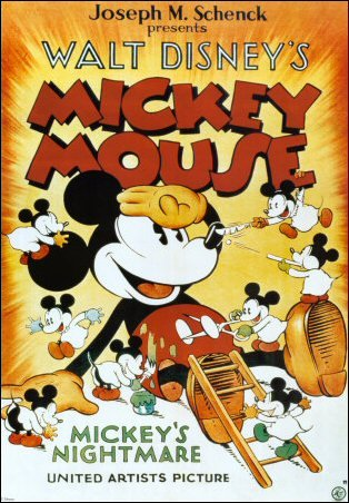 Mickey Mouse - Mickey's Nightmare Movie Poster
