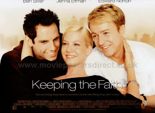 Keeping the Faith Movie Poster