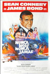 Never Say Never Again - Spanish Movie Poster