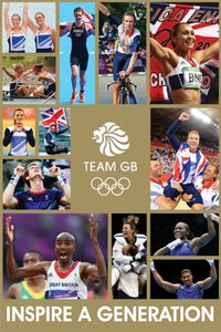 Team GB Gold (Metalic Ink) - Maxi Poster - 61cm x 91.5cm