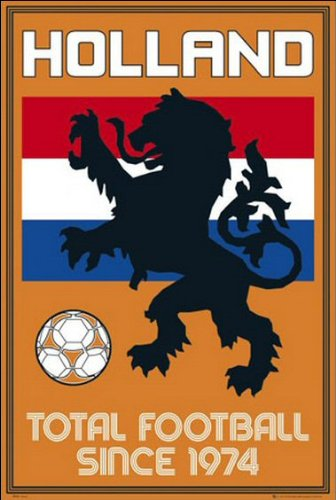 Holland (Total Football) - Maxi Poster - 61cm x 91.5cm