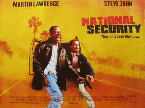 National Security Movie Poster