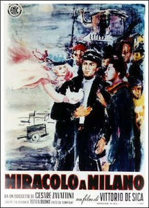 Miracle in Milan Movie Poster
