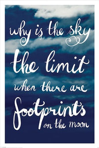 Why Is The Sky The Limit - Maxi Poster - 61cm x 91.5cm