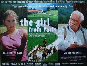 The Girl From Paris Movie Poster