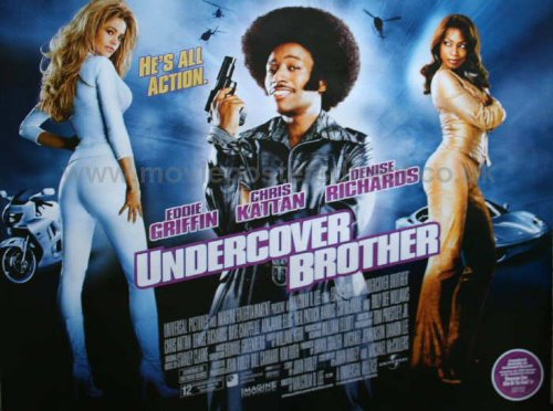 Undercover Brother Movie Poster