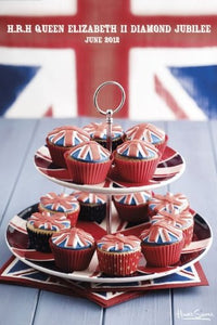 Union Jack Cupcakes (Howard Shooter) - Maxi Poster - 61cm x 91.5cm