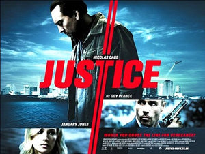Justice Movie Poster