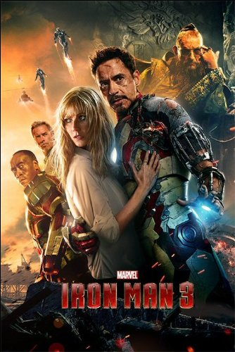 Iron Man 3 One Sheet Maxi Poster