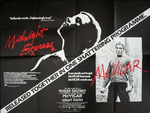 Midnight Express / McVicar Movie Poster