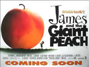 James and the Giant Peach Movie Poster