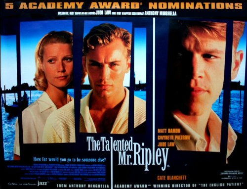 The Talented Mr Ripley Movie Poster