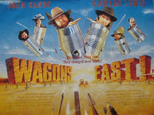 Wagons East Movie Poster