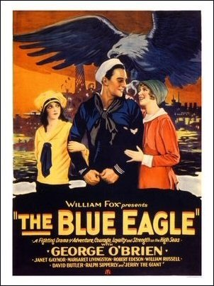The Blue Eagle Art Print Poster