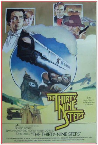 The Thirty Nine Steps Movie Poster