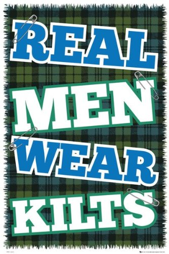 Humour Maxi Poster featuring The Real Pride of Scotland 61x91.5cm