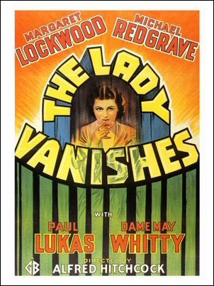 The Lady Vanishes Art Print Poster