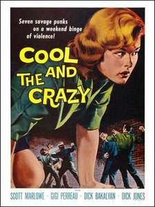 The Cool and the Crazy Art Print Poster