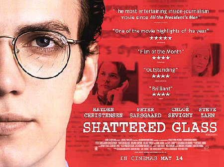 Shattered Glass Movie Poster