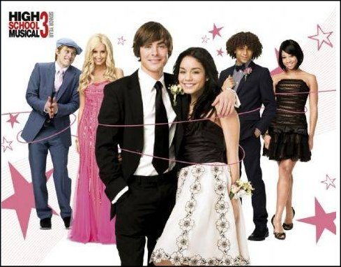 High School Musical 3 (Prom) - Mini Poster - 40cm x 50cm