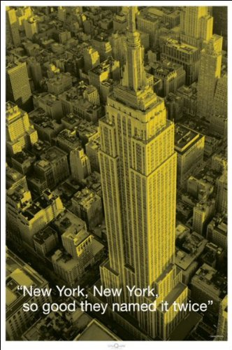 New York (City Quote) - Maxi Poster - 61cm x 91.5cm