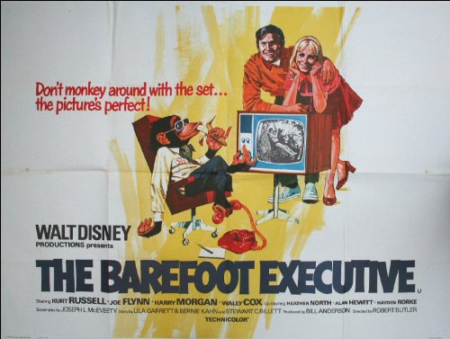 The Barefoot Executive Movie Poster