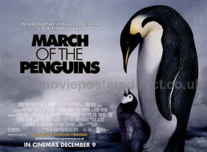 March of the Penguins Movie Poster
