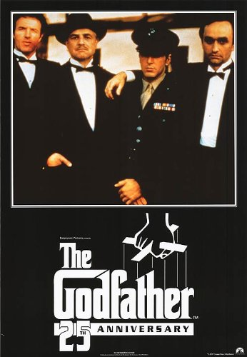 The Godfather 25th Anniv. Movie Poster