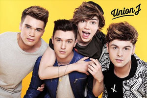 Union J Maxi Poster, Yellow