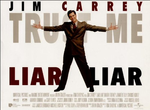 Liar Liar Movie Poster