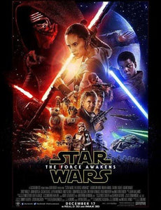 "Star Wars The Force Awakens Poster (16"" x 20"") UK Original"