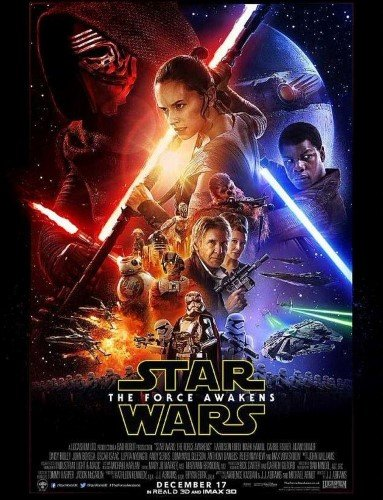 Star Wars The Force Awakens Poster (16