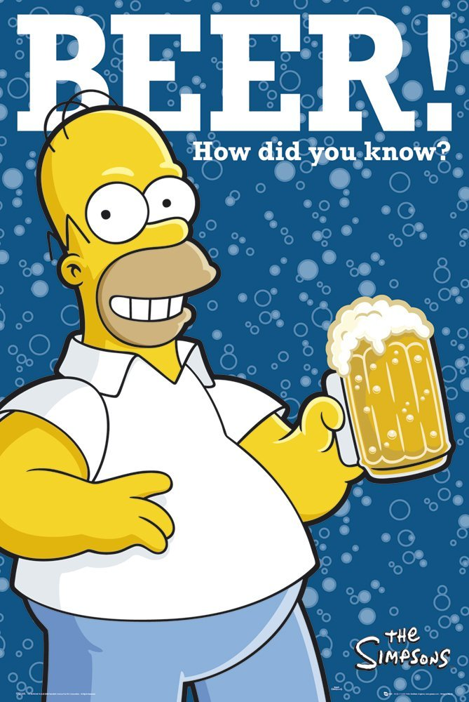 The Simpsons - How Did You Know? - Maxi Poster - 61 cm x 91.5 cm
