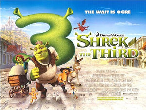 Shrek: The Third Movie Poster