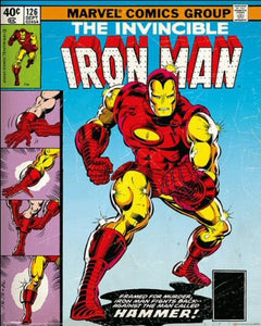 Iron Man (Cover) - Mini Poster - 40cm x 50cm