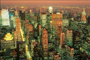 Manhattan Evening - Maxi Poster - 61cm x 91.5cm
